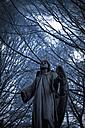 Germany, Cologne, Statue of angel at Melatenfriedhof - KJF000108