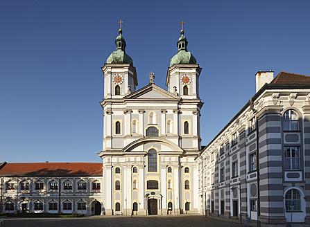 Germany, Bavaria, Upper Palatinate, Waldsassen, View of church - SIEF001952