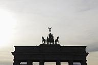 Germany, Berlin, View of Brandenburg Gate - JMF000086