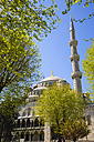 Turkey, Istanbul, View of Blue Mosque - PSF000610