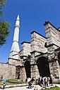 Turkey, Istanbul, Sultanahmet, Tourists at Hagia Sophia museum - PSF000626