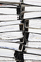 Piled of office files, close up - GWF001604