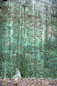 Germany, Bavaria, Wuerzburg, View of greenish wall - NDF000238