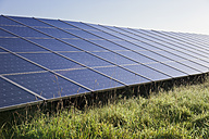 Germany, View of solar panels to generate electricity - MSF002548