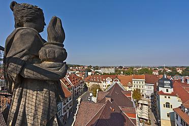 Germany, Thuringia, Gotha, View of city - WDF001165