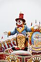 Germany, Oberhausen, Clown display at fair - ANB000054