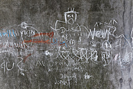 Germany, Drawing on school wall - ANBF000015