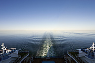 Baltic Sea, Cruise ship travelling between Russia and Finland - MS002626