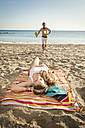 Spain, Mallorca, Couple on beach - MFPF000022