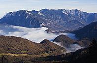 Austria, View of Hoellen Mountain - WWF002010