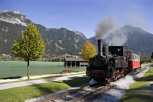 Austria, Tyrol, Maurach, Steam engine of  Achenseebahn - WW002025