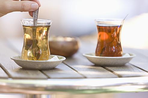 Turkey, Turkish tea, close up - DSF000381