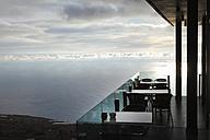 Spain, La Palma, Restaurant La Muralla - SIE002465