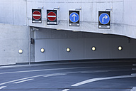 Europe, Germany, Munich, Empty entrance basement garage of ADAC center - TCF002210