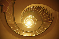 Germany, Bavaria, Munich, Spiral staircase - TC002250