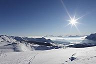 Austria, Styria, View of skiing region Tauplitzalm - SIEF002538