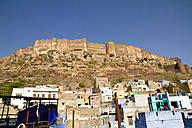 India, Rajasthan, View of Jodhpur Fort - MBEF000272