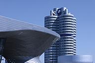 Europe, Germany, Bavaria, Munich, View of BMW World and BMW building - TC002335