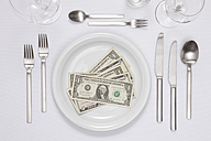 1 dollars in plate - TLF000650