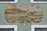Germany, Bavaria, Facade painting on building at Bad Toelz - TC002485