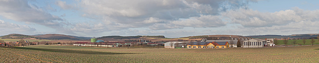 Germany, Thuringia, View of biogas plant - MJF000029