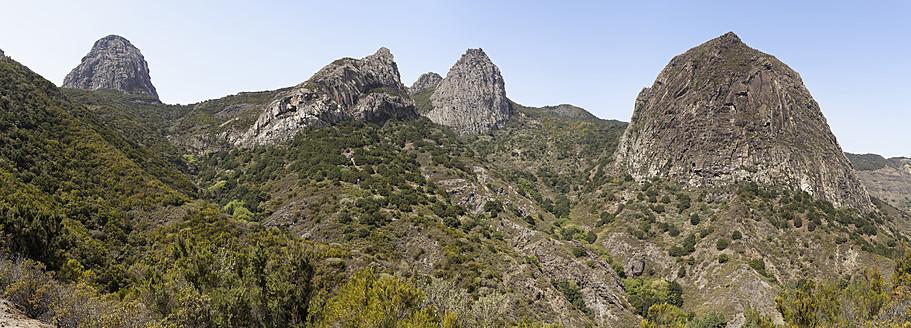 Spain, La Gomera, View of Los Roques - SIEF002569