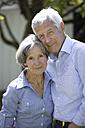 Germany, Bavaria, Senior couple smiling, portrait - TCF002579