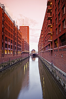 Germany, Hamburg, Old warehouses in Speicherstadt - MSF002667