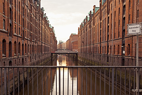 Germany, Hamburg, Old warehouses in Speicherstadt - MSF002669