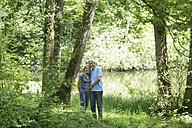 Germany, Bavaria, Senior couple smiling - TCF002641