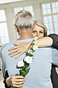 Germany, Berlin, Senior couple embracing - FMKYF000051