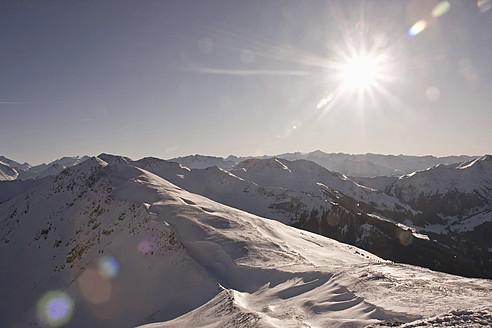 Austria, View of snowy mountains - FLF000081