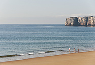 Portugal, Family on beach - MIRF000492