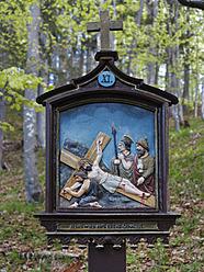 Germany, Bavaria, Crucifixion, close up - SIE002685