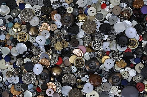 Various buttons, close up - AXF000095