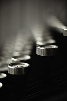 Close up of old typewriter keys - TLF000661