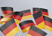 German Flags against white background - WBF001374