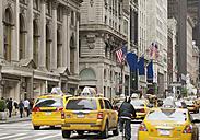 USA, New York, View of street scene - WBF001256