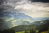 Germany, Bavaria, View of alps - MJF000090
