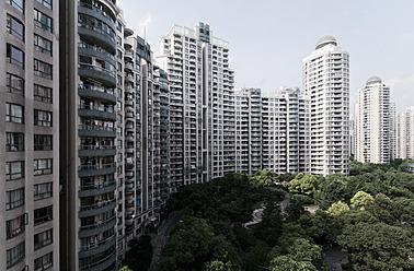 China, Shanghai, View of city - WA000012