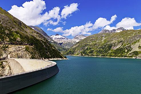 Austria, View of Kolnbrein Dam - EJWF000113
