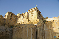 India, Rajasthan, Jaisalmar, View of Jaisalmar Fort - MBEF000514