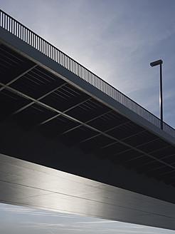 Germany, North Rhine Westphalia, Duesseldorf, View of Oberkassel Bridge - HHEF000019