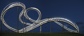 Germany, Duisburg, View of Tiger and Turtle art installation at Angerpark - HHE000024