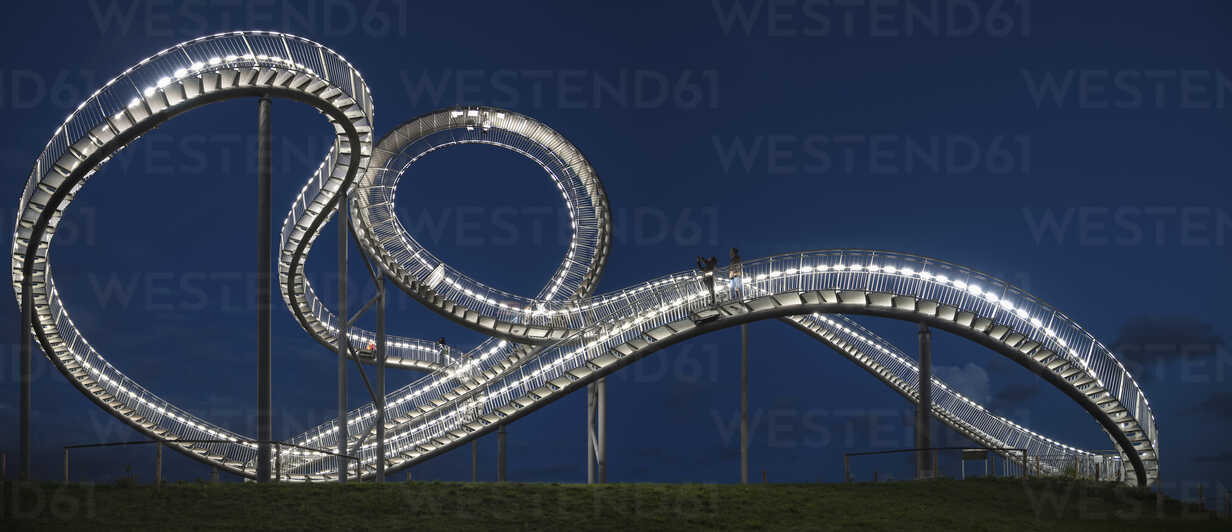 Germany, Duisburg, View of Tiger and Turtle art installation at Angerpark - HHE000024 - Harald Hempel/Westend61