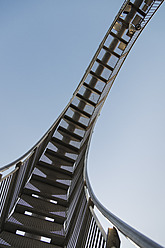 Germany, Duisburg, View of Tiger and Turtle art installation at Angerpark - HHEF000026