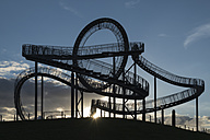 Germany, Duisburg, View of Tiger and Turtle art installation at Angerpark - HHEF000029
