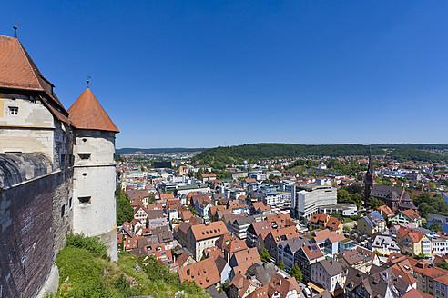 Germany, Baden Wuerttemberg, View of Hellenstein Castle at Heidenheim an der Brenz - WDF001305