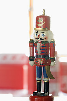 Close up of Nutcracker figurine - ASF004681