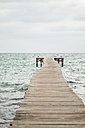 Spain, View of jetty at the sea - JKF000005